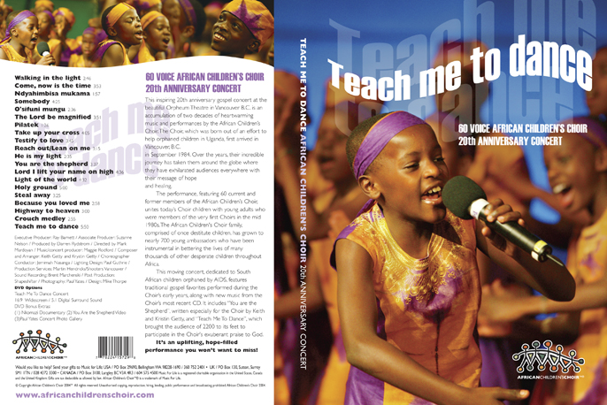 African Childrens Choir, Canada