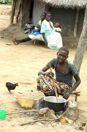 Cooking pot, Kajo Keji County, Southern Sudan