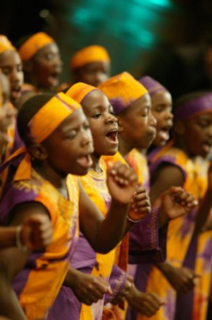 African Children's Choir, Vancouver, Canada