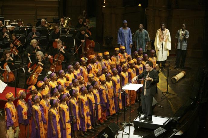Dirk Brossé + African Children's Choir, Opera House, Vancouver, Canada