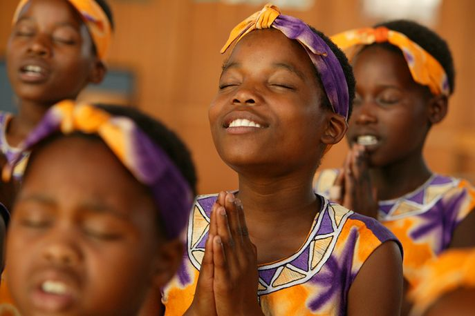 African Children's Choir, Music For Life Centre, Rondebosch, Cape Town